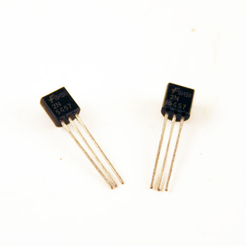 Unmatched Pair of 2N5457 FETs